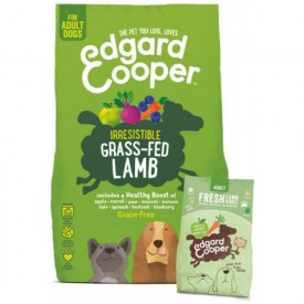EDGARD & COOPER Cani Adult Agnello Fresco da 2.5 Kg
