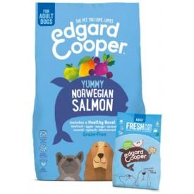 EDGARD & COOPER Cani Adult Salmone e Trota da 7 Kg