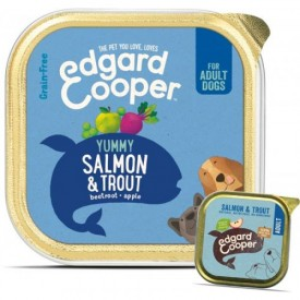 EDGARD & COOPER  Cani Salmone e Trota 150 g