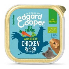 EDGARD & COOPER  Cani Pollo e Pesce Bio 100 g