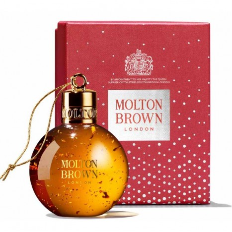 Mesmerising Oudh Accord & Gold Festive Bauble – Molton Brown