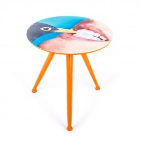 Tavolino in Legno Toiletpaper Seletti – Merlo