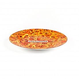 """Piatto in Porcellana """"Toiletpaper New"""" Seletti – Spaghetti"""
