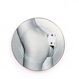 """Piatto in Porcellana """"Toiletpaper New"""" Seletti – Two of Spades"""
