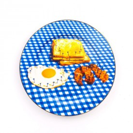 """Piatto in Porcellana """"Toiletpaper New"""" Seletti – Breakfast"""