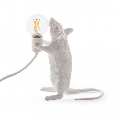 """Lampada in Resina """"Mouse Lamp"""" Seletti – In Piedi"""