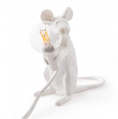 """Lampada in Resina """"Mouse Lamp"""" Seletti – Seduta"""