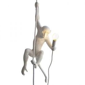 """Lampada in Resina """"Monkey Lamp"""" Seletti – Con Corda"""