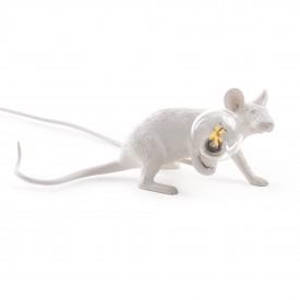 "Lampada in Resina ""Mouse Lamp"" Seletti – Stesa"