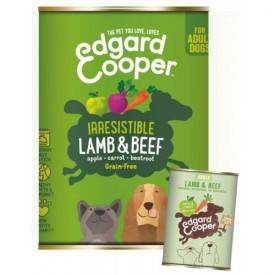 EDGARD & COOPER Cani Agnello e Manzo 400 g