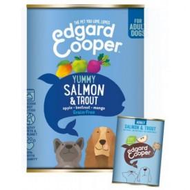 EDGARD & COOPER Cani Salmone e Trota 400 gr