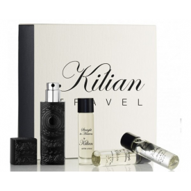 Straight to Heaven, white cristal Travel Set