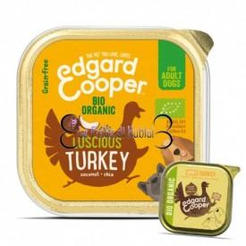 EDGARD & COOPER  Cani Tacchino Bio 100 g