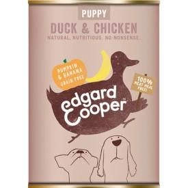 EDGARD & COOPER Cani Puppy Anatra e Pollo 400 gr