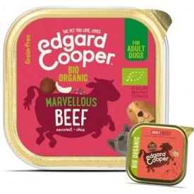 EDGARD & COOPER Cani Manzo Bio 100 g