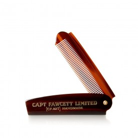 Beard Comb Pettine Baffi e Barba ripiegabile