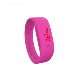 Led Watch - FUCSIA FLUO
