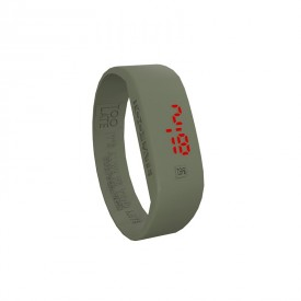 Led Watch - VERDE MILITARE