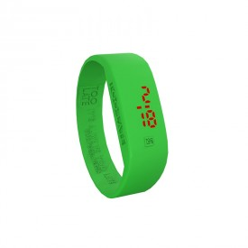 Led Watch - VERDE FLUO