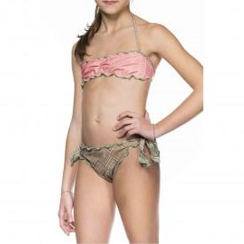Bikini Fantasia a Fascia per Bambina