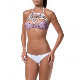 Bikini a Fascia con Fazzoletto Removibile e Slip Reverse FK16-0355U