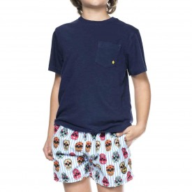 T-Shirt con Taschino per Bambino FK16-2200B