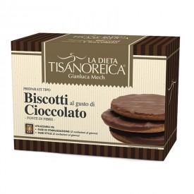 Biscotti al Gusto di Cioccolato (4 confezioni da 4 biscotti da 11g)