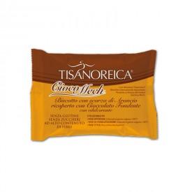 CiocoMech con Scorza di Arancio (9 biscotti da 13g)