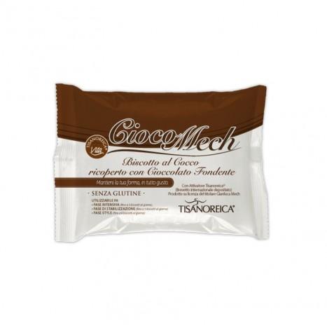 Cioco-Mech al Cocco con Cioccolato Fondente (9 biscotti da 13g)