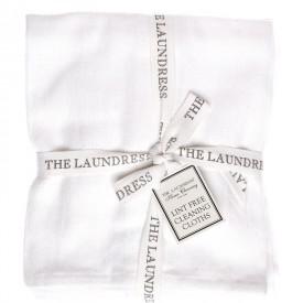 Lint Free Cleaning Cloths - Tre Panni in Puro Cotone Per la Pulizia degli Ambienti