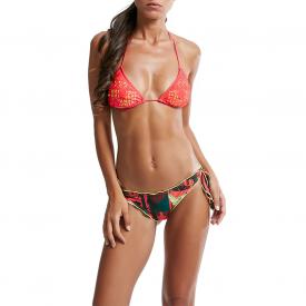 Bikini Triangolo Traforato Laser e Slip Nodi FK17-3D441U