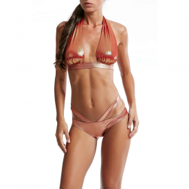 Bikini Fusciacca Marylin e Slip Americano FK17-1C093U