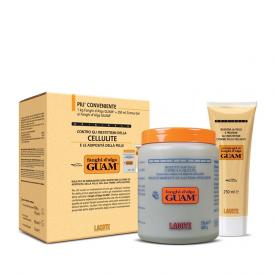 Fanghi d'Alga Guam (1kg) + Tubo Crema Gel ai Fanghi d'Alga Guam (250ml)