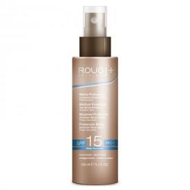 Emulsione Solare Spray Media Protezione SPF15 per Pelli Sensibili Viso e Corpo (150ml)