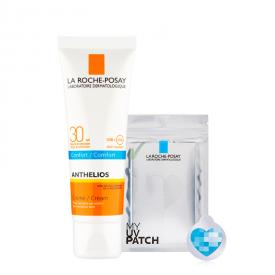 Anthelios Latte Solare Confort SPF 30 con MY UV PATCH (100ml)