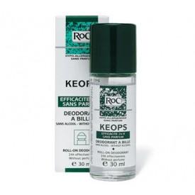 ROC Keops - Deodorante Roll-On Senza Alcool (30ml) - Pelli sensibili