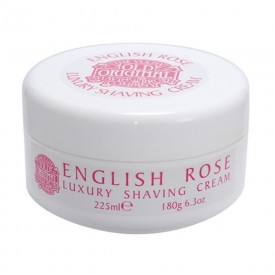 Luxury Shaving Cream English Rose - Crema da Barba (180gr)
