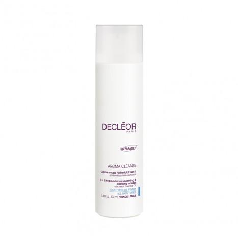 Aroma Cleanse Crème Mousse Hydra-Éclat 3 en 1 - Mousse Detergente (100ml)