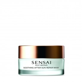 Sensai - Silky Bronze Soothing After Sun Repair Mask - Maschera in Gel Doposole Idratante e Lenitiva (60ml)