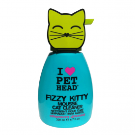 Fizzy Kitty Mousse Cat Cleaner Shampoo Secco (200ml)