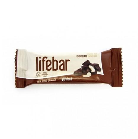 Lifebar al Cioccolato Bio Cruda Vegana Senza Glutine