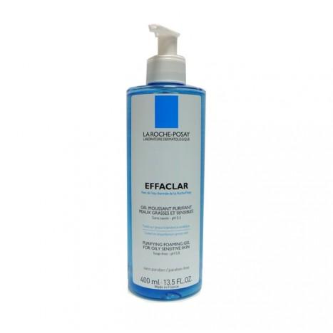 La Roche-Posay - Effaclar Gel Schiumogeno Purificante Pelle Grassa e Sensibile (400ml)